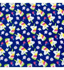 Printed Anti-Pil Polar Fleece Fabric 20+ Designs-Unicorns