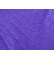7cm Diamond Quilted 2oz Nylon-Purple
