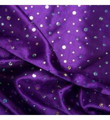 Hologram Sequin Satin-Purple
