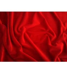 Luxury Stretch Velour-Red