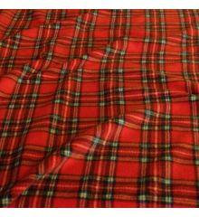 Printed Anti-Pil Polar Fleece Fabric 20+ Designs-Royal Stewart Tartan