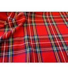 Royal Stewart Tartan Fabric