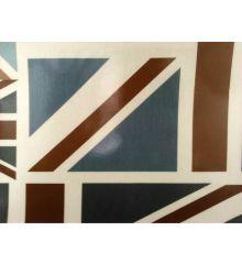 Fryetts Rustic Union Jack PVC Coated Tablecloth Fabric