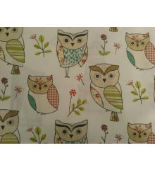 Fryett's Hoot 100% Cotton Fabric
