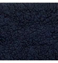 Supersoft Sherpa Fleece Fabric-Navy