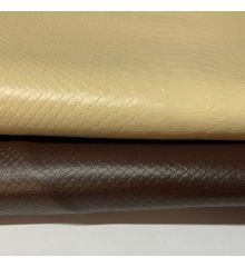 Snake Skin PVC Faux Leather