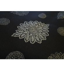 Steel Isadora Polyester Furnishing Fabric