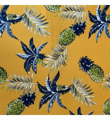 Pineapples Stretch Jersey DTY Fabric