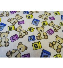 Teddy Bears Polycotton Print