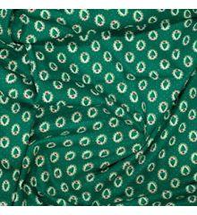 Oval Tree Christmas Cotton Poplin (0526)-Green