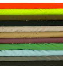 Water Resistant Breathable Teflon Coated Polyester-Flo Yellow