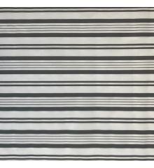 Stripe Waterproof Outdoor Canvas-Grey