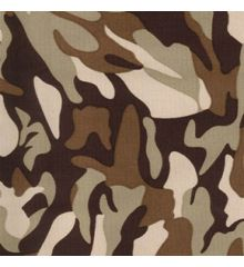 Camo Water Repellent UVA Coated Canvas (7580)
