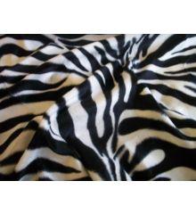 Zebra Faux Fur Velboa