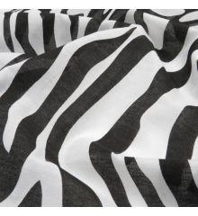 Zebra Animal Print Polycotton Fabric
