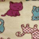 Printed Anti-Pil Fleece - Kittens