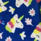 Printed Anti-Pil Fleece - Unicorns