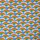 Rainbows Polycotton Fabric