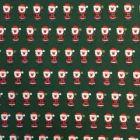 Christmas Santa Claus 100% Cotton Poplin