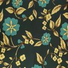 Blue Flowers Stretch Jersey DTY Fabric