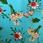 Daisy Flowers Stretch Jersey DTY Fabric