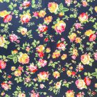 Pink Roses Stretch Jersey DTY Fabric