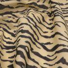 Tiger Stripe Animal Print Polycotton Fabric