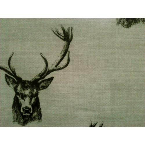 Fryetts Stags 100% Cotton Upholstery Fabric