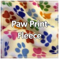 Paw Print Fleece